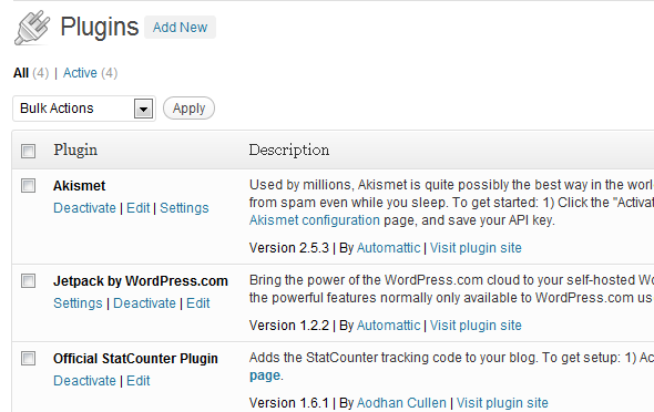 Installing WordPress Plugins is easy