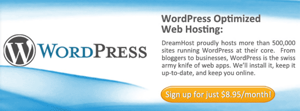 Dreamhost WordPress Optimized