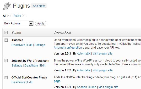Installing WordPress Plugins is easy